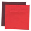 Red 7 1/2 x 7 1/2 Square Envelopes