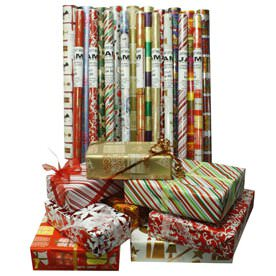 Christmas Design Wrapping Paper