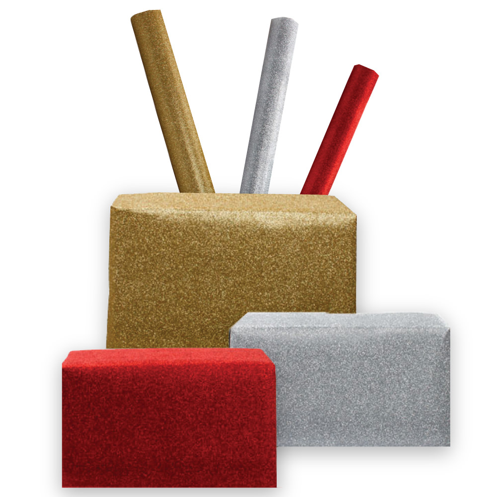 Glitter Gift Wrapping Paper