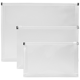 Clear Plastic Envelopes with Zip Closure