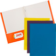 Glossy Folders with Fasteners