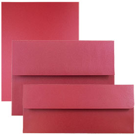 Jupiter Red Stardream Metallic Envelopes & Paper