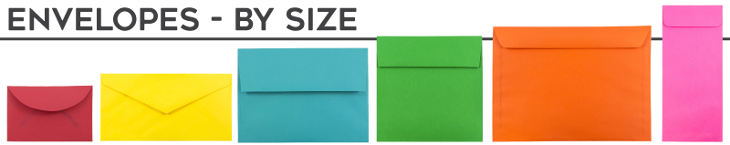 Envelopes - By Size