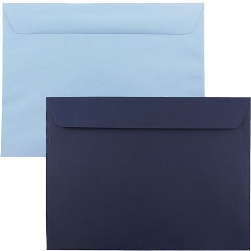 Blue Large Paper Booklet Envelopes