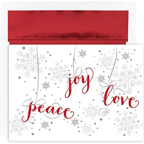 Peace and Joy Christmas Card Sets