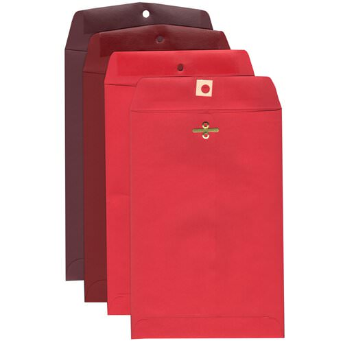 Red 6 x 9 Envelopes