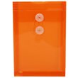 Orange 6 1/4 x 9 1/4 Plastic Envelopes