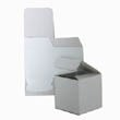 3 x 3 x 3 Open Lid White Box - 1