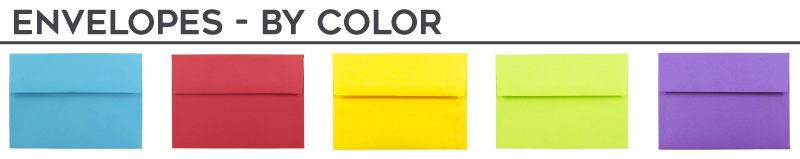 Envelopes - By Color