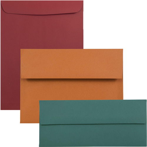 Dark Base Envelopes & Paper