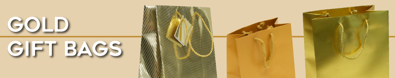 Gold Gift Bags