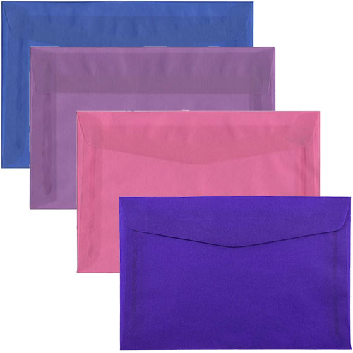 6 x 9 Translucent Closeout Envelopes