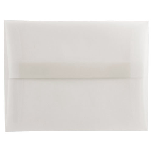 Clear A6 Envelopes - 4 3/4 x 6 1/2