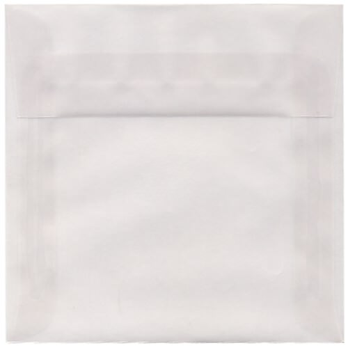 Clear 5 1/2 x 5 1/2 Square Envelopes