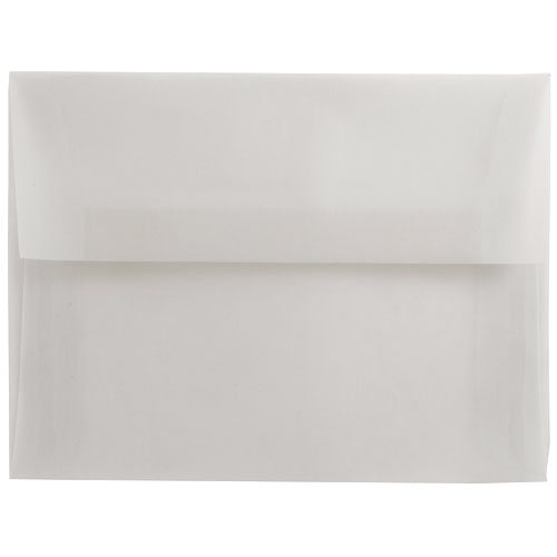 Clear A8 Envelopes - 5 1/2 x 8 1/8
