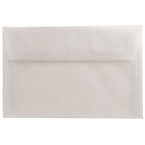 Clear A9 Envelopes - 5 3/4 x 8 3/4