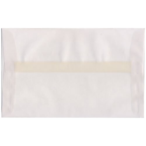 Clear A10 Envelopes - 6 x 9 1/2