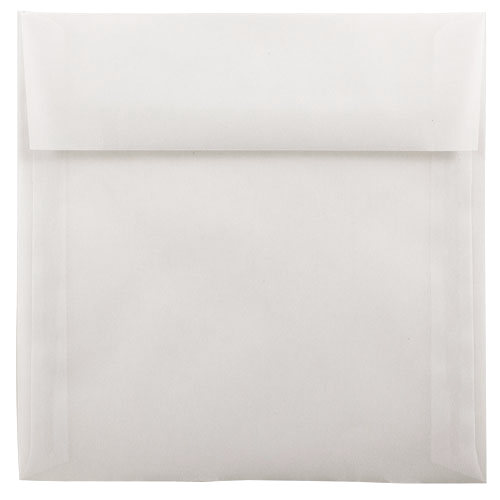 Clear 6 1/2 x 6 1/2 Square Envelopes