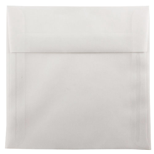 Clear 7 x 7 Square Envelopes