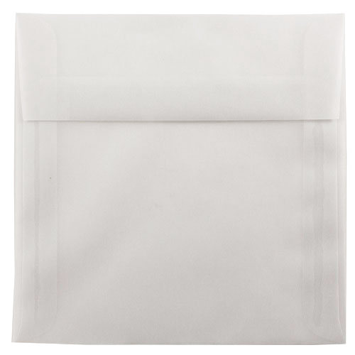 Clear 7 1/2 x 7 1/2 Square Envelopes