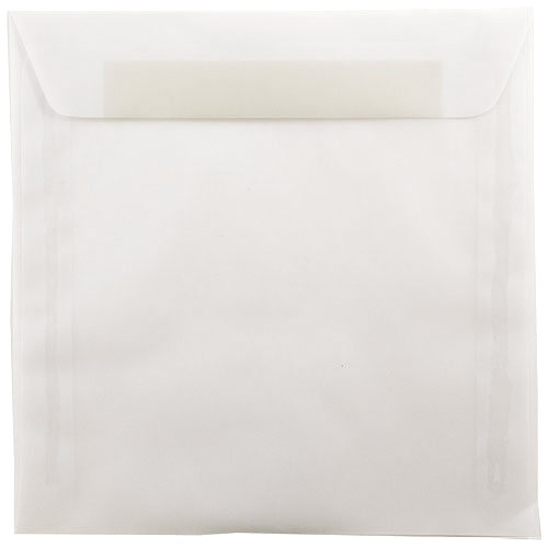 Clear 9 x 9 Square Envelopes