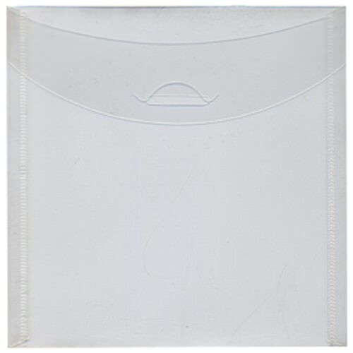 Clear 6 1/8 x 6 1/8 Square Envelopes