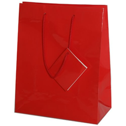 Red Gift Bags with Handle