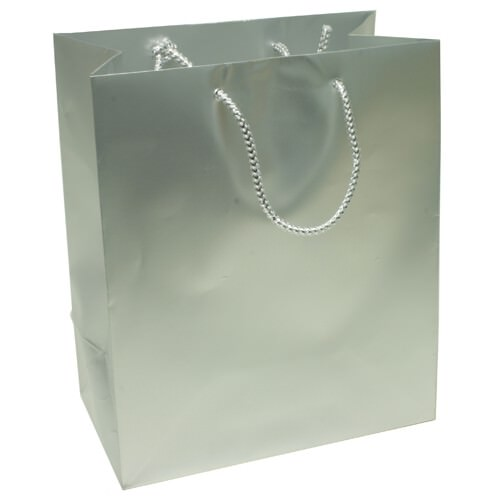 Silver Gift Bags with Handle