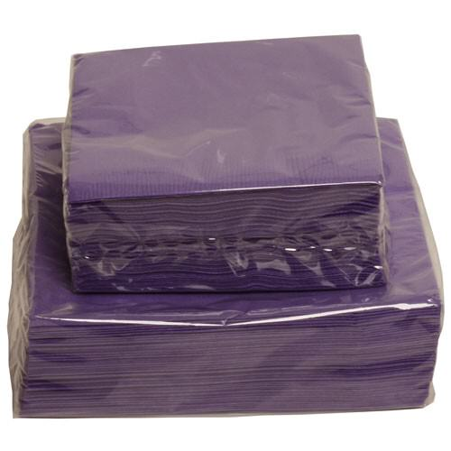 Purple Paper Napkins