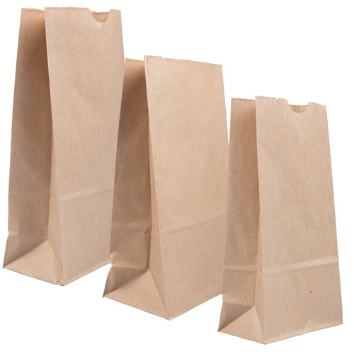 Brown Paper Lunchbags