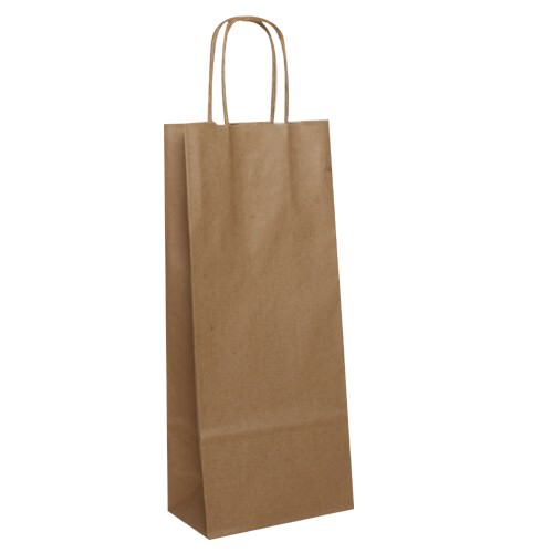 Brown Wine Bags