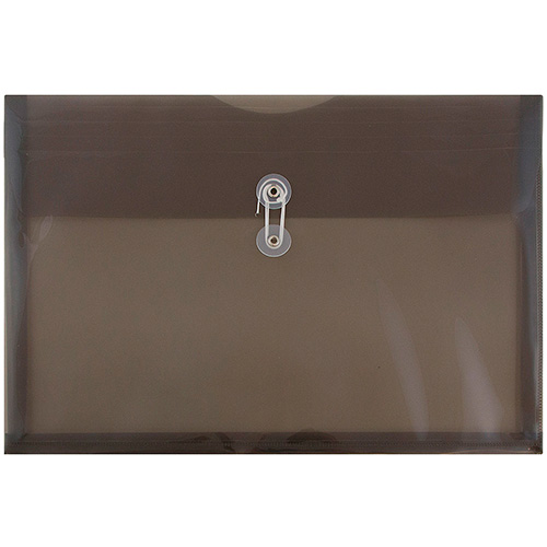 Grey Legal Plastic Envelopes - 9.75x14.5