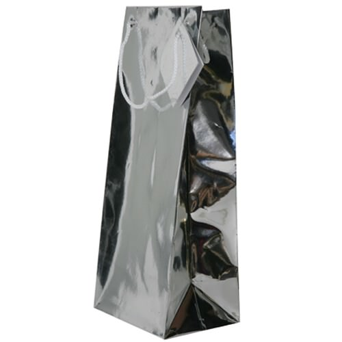 Silver Wine Bags