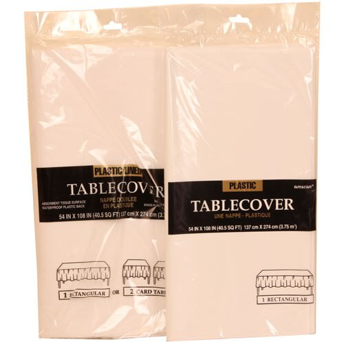 White Tablecovers
