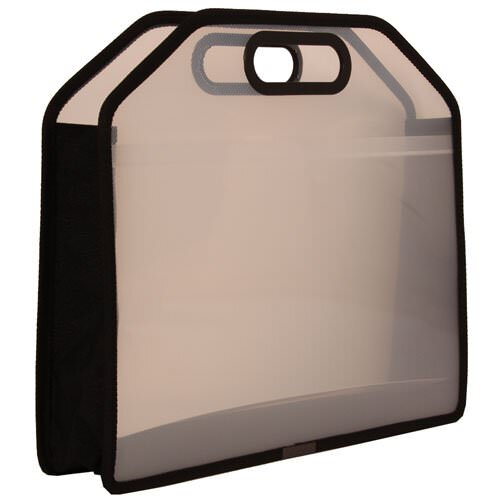 Clear Carry Case with Handles - 14.7 x 10.7 x 3.7