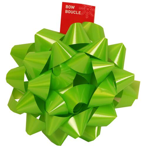 Green Gift Bows