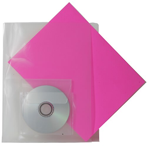 Two Sided Folder with CD pocket