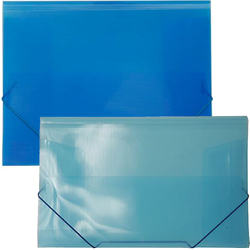 Blue Plastic Action Case Envelopes