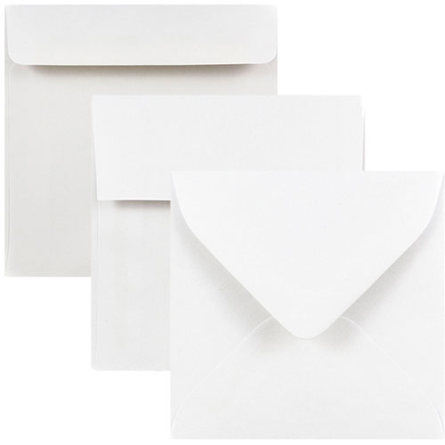 Regular White Square Envelopes