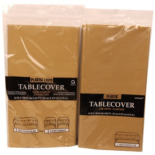Gold Table Covers