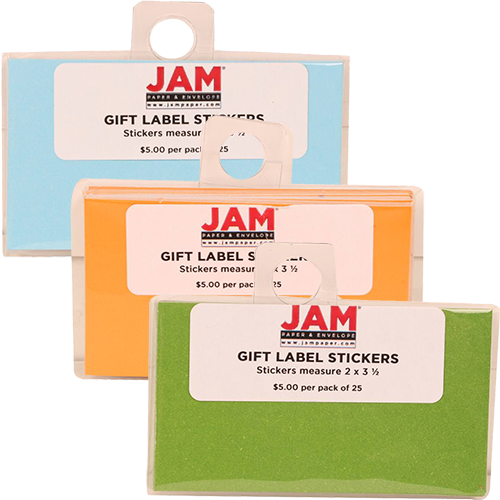 gift label stickers jam paper