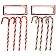 Candy Cane Gift Wrapping Embellishments