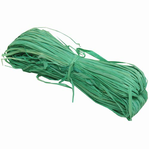 Green Rapphia Ribbon