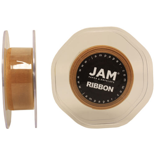 Gold Sheer Ribbon