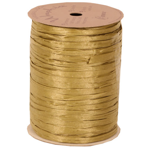Gold Rapphia Ribbon