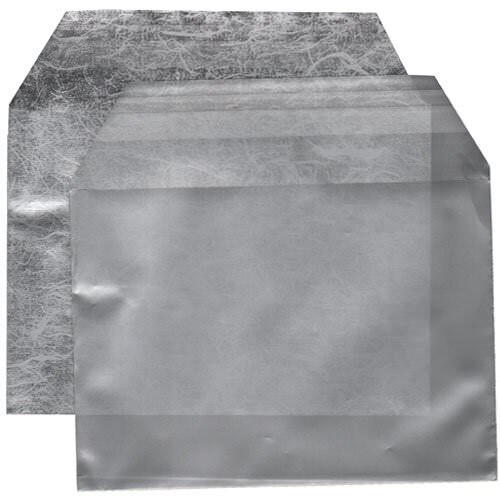 Silver & Grey 4 1/4 x 5 11/16 Envelopes