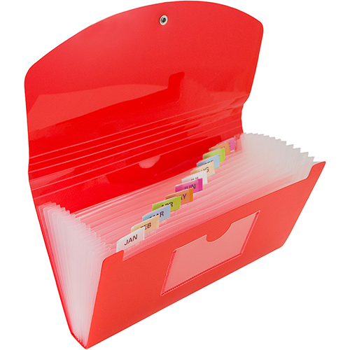 13 Pocket Accordion Folders