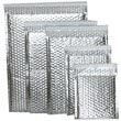 Silver Bubble Mailers - Self Adhesive Closure