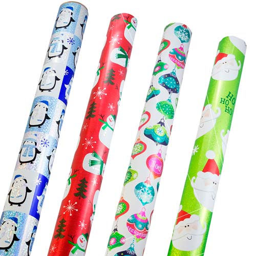 Wide Christmas Wrapping Paper