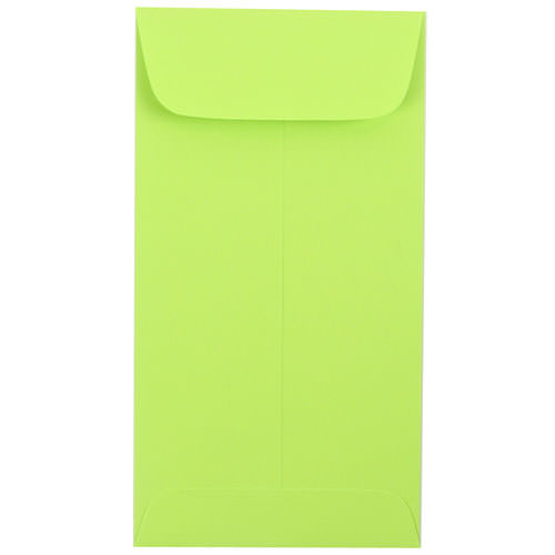 Green #7 Coin Envelopes - 3 1/2 x 6 1/2